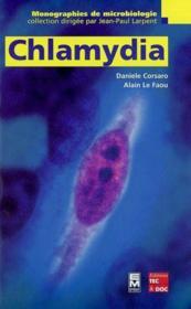 Chlamydia (Collection Monographies De Microbiologie) - Couverture - Format classique