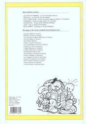 Recueil spirou t.269 - 4ème de couverture - Format classique