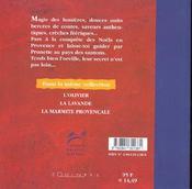 Noels En Provence - 4ème de couverture - Format classique