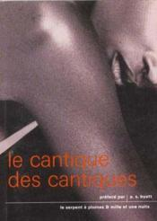 Cantique Des Cantiques - Couverture - Format classique