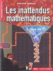 Les Inattendus Mathematiques. - Intérieur - Format classique