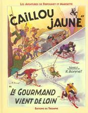 Les aventures de Fripounet et Marisette t.11 ; le caillou jaune - Intérieur - Format classique