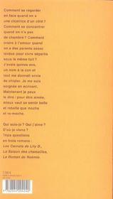 Les carnets de Lily B. - 4ème de couverture - Format classique