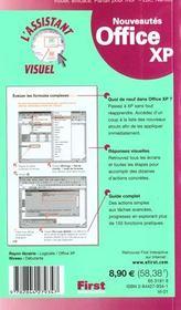 L'Assistant Visuel Office Xp - 4ème de couverture - Format classique