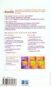 Infectieux Sida Les Cas Concrets Du D.E. - 4ème de couverture - Format classique