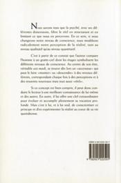 L'homme gratte-ciel ; l'axe vertical de conscience - 4ème de couverture - Format classique