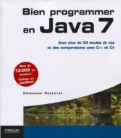 Bien programmer en Java 7 (4e édition) - Couverture - Format classique