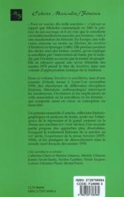 Sorcieres Et Sorcelleries - 4ème de couverture - Format classique