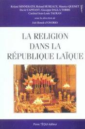 La Religion Dans La Republique Laique - Intérieur - Format classique
