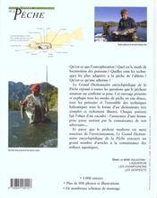 Grand Dictionnaire Encyclopedique De La Peche - 4ème de couverture - Format classique
