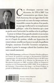La provende et l'étamine ; lectures historiques et politiques, 1976-2007 - 4ème de couverture - Format classique