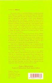 La Peau Du Loup - 4ème de couverture - Format classique