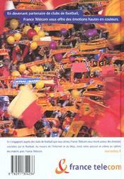 Guide du football ; saison 2001-2002 - 4ème de couverture - Format classique