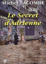 Le secret d'Adrienne - Couverture - Format classique