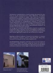 Les architectes de la memoire - 4ème de couverture - Format classique
