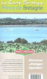 Bretagne: Tourisme et gastronomie - 4ème de couverture - Format classique