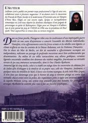 Elegie Pour Un Vampire - 4ème de couverture - Format classique
