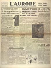 Aurore (L') N°577 du 23/06/1946 - Couverture - Format classique