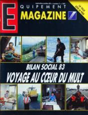 Equipement Magazine N°7 du 01/09/1985 - Couverture - Format classique