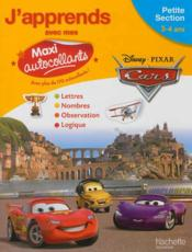 Vente livre :  Cars ; petite section ; maxi-autocollants  - Collectif