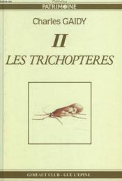 Les trichoptères - Couverture - Format classique