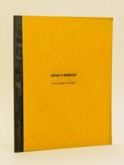 Séminaires sur les espaces vectoriels topologiques. Année 1962-1963 - Couverture - Format classique