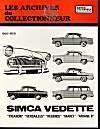Simca Trianon-Versailles-Regence-Marly (55/59)N 13 - Couverture - Format classique
