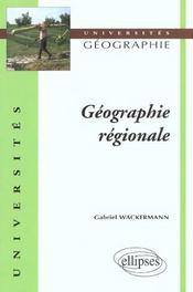 Geographie Regionale - Intérieur - Format classique