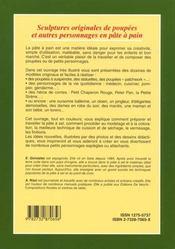 Les Poupees Et Autres Personnages En Pate - 4ème de couverture - Format classique