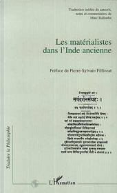 Les Materialistes Dans L'Inde Ancienne - Intérieur - Format classique