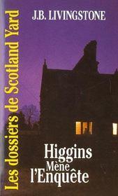 Higgins Mene L'Enquete - Intérieur - Format classique