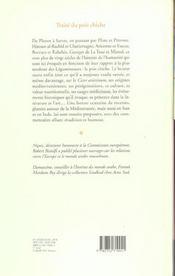 Traité du pois chiche - 4ème de couverture - Format classique