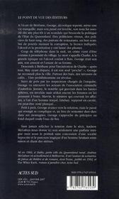 Derniers Verres - 4ème de couverture - Format classique