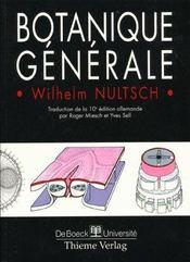 Botanique Generale - Intérieur - Format classique