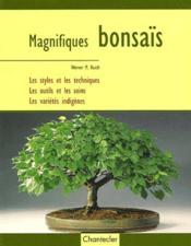 Magnifiques Bonsais - Couverture - Format classique