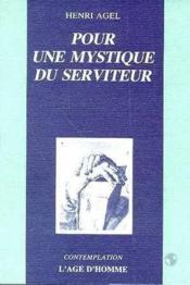 Pour Mystique Serviteur - Couverture - Format classique
