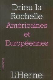 Americaines Et Europeennes - Intérieur - Format classique