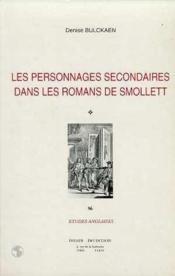 Personnages secondaires dans les romans de smollett - Couverture - Format classique