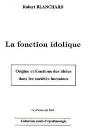 La Fonction Idolique - Couverture - Format classique