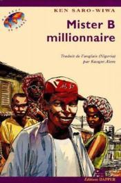 Mister B, millionnaire - Couverture - Format classique
