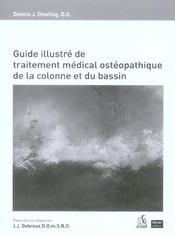 Guide illustré de traitement médical et ostéopathique de la colonne et du bassin - Intérieur - Format classique