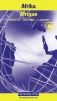 Afrique 1/12000000 - Couverture - Format classique