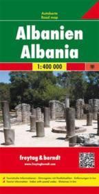 Albanie 1/400 000 - Couverture - Format classique
