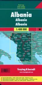 Albanie 1/400 000 - 4ème de couverture - Format classique