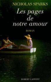 Les Pages De Notre Amour - Couverture - Format classique