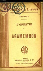 L'Orestie - Agamemnon - Couverture - Format classique