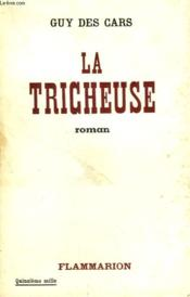 La Tricheuse. - Couverture - Format classique