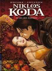 Niklos Koda t.8 ; le jeu des maîtres - Intérieur - Format classique