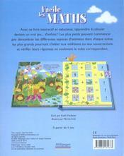 Facile, les maths - 4ème de couverture - Format classique