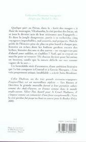 Vers La Cite Perdue - 4ème de couverture - Format classique